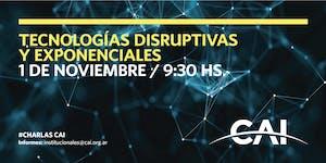 Tecnologías Disruptivas y Exponenciales