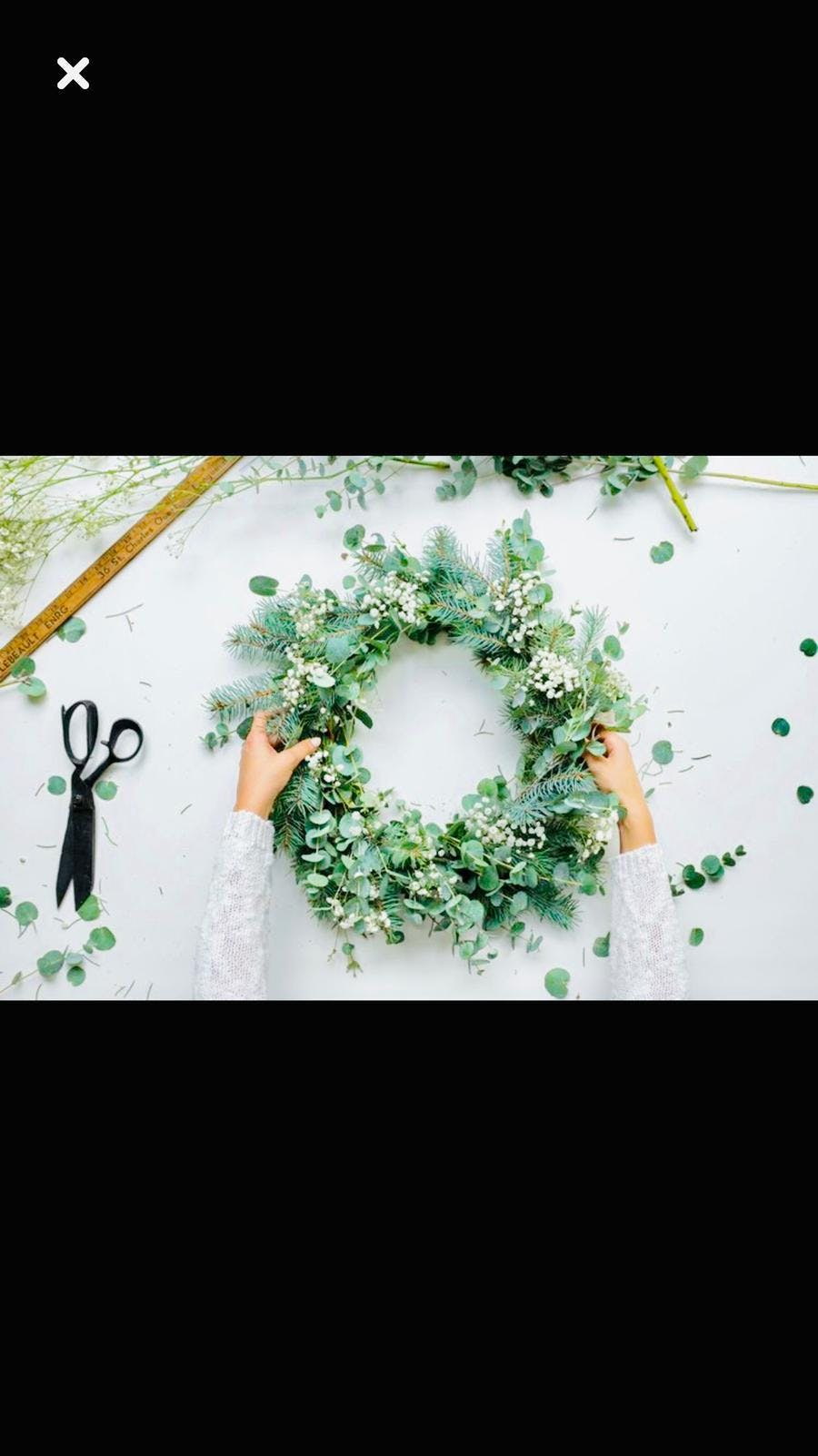 Festive Wreath Making Workshop - Evening sess