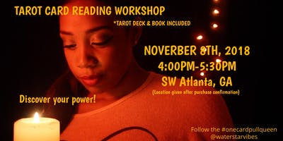 Tarot Card Reading Workshop Class Spiritual Life Business