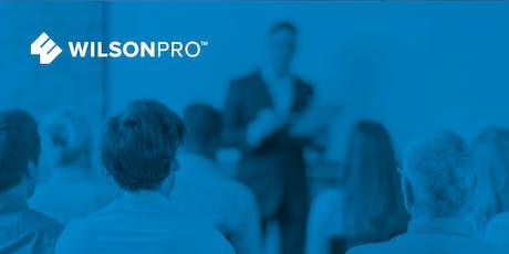 Wilson University: WilsonPro Certified Installer Training - 2019 Dates tickets