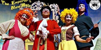 """Desconto! Espetáculo infantil em inglês """"The Emperor's New Hair"""" no Teatro Viradalata"""