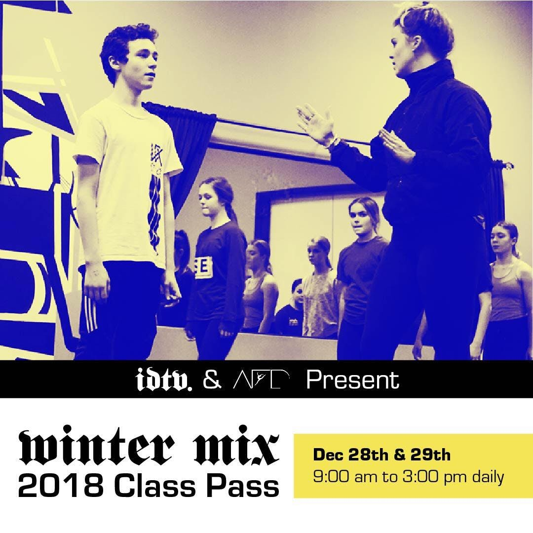 Acting For Dancers Workshop at WinterMix 2018