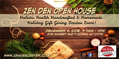 Zen Den Holistic Health Handcrafted & Homemade Holiday Gift Giving Event