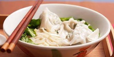 Make Wonton Noodle Soup from Scratch - wrappers, noodles & soup! (Feb 2019)