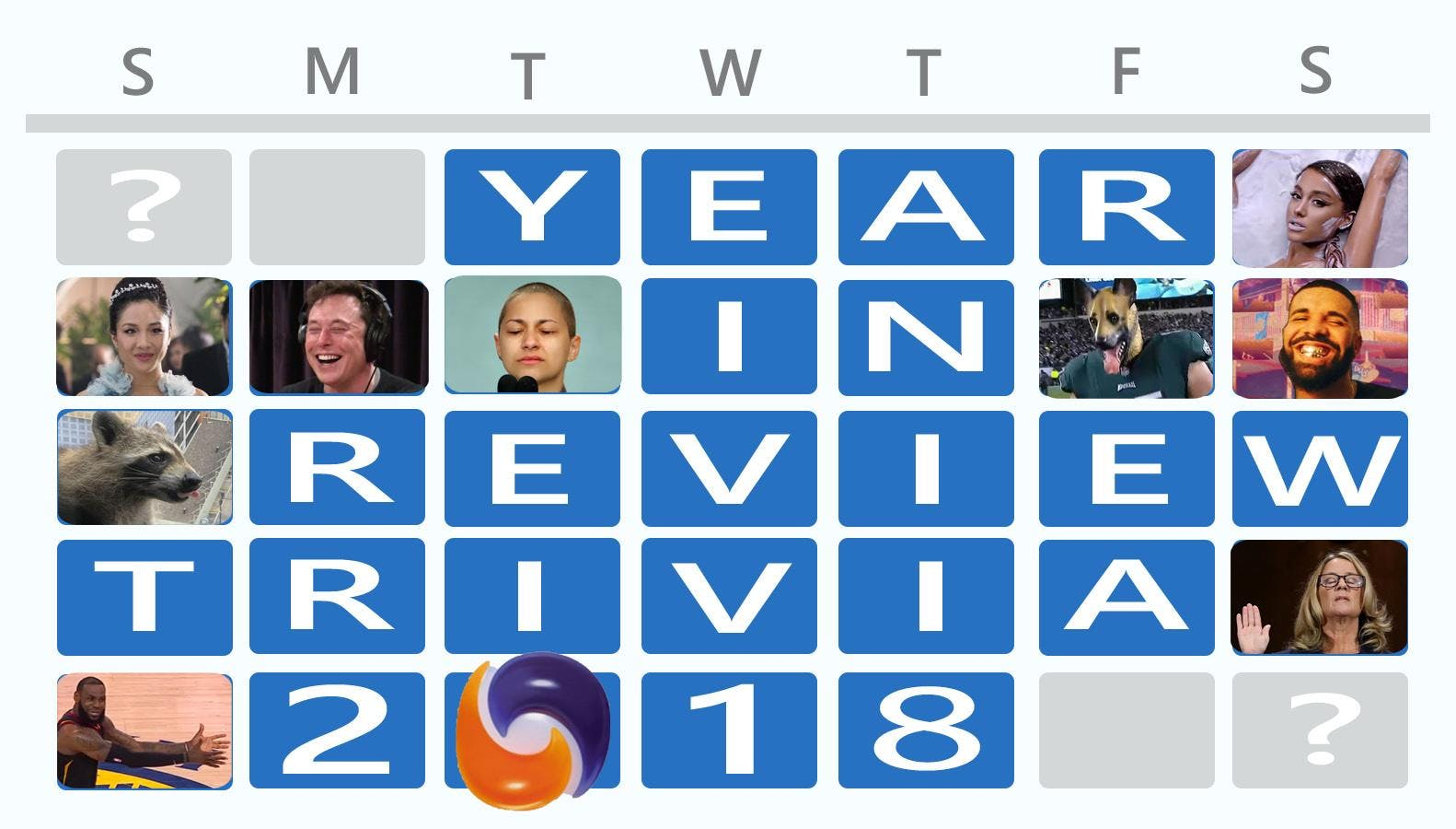 Year In Review Trivia 2018 - Benefiting Central Arizona Shelter Services
