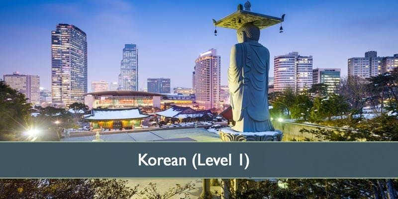 Korean (Level 1) - January 2019