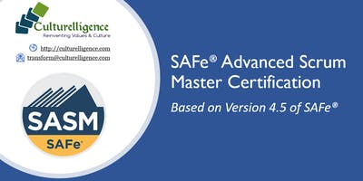 SAFe® Advanced Scrum Master with SASM Certification: Albany, NY| Dec 8-9, 2018
