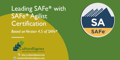 Leading SAFe with SAFe Agilist (SA) Certification | Albany,NY |Jan 19-20, 2019