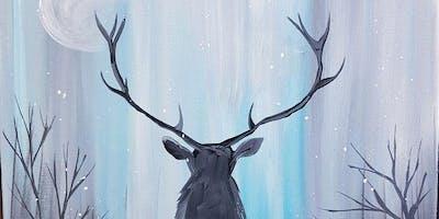 An Evening With Paintergirl~Frozen Buck