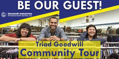 Triad Goodwill Community Tour - November 2018