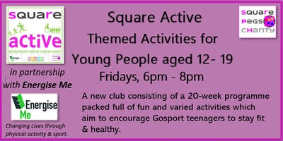 Square Active Youth Group for 12-19 year olds