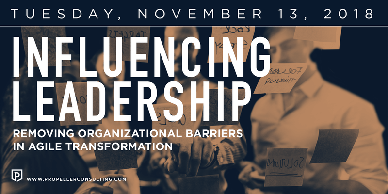Influencing Leadership: Removing Org Barriers in Agile Transformation