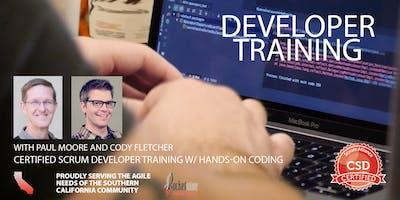 Certified Scrum Developer Training-Tech Practices Track|Irvine CA|Mar 2019