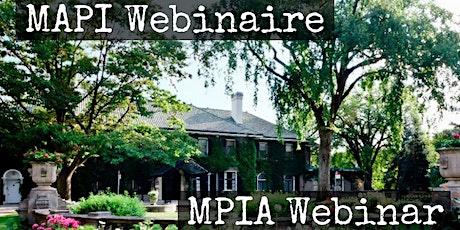 Glendon MPIA Webinar| MAPI Webinaire tickets