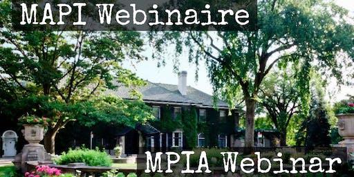 Glendon MPIA Webinar| MAPI Webinaire