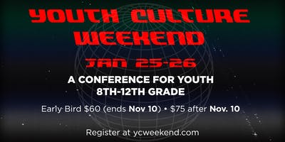 Youth Culture Weekend 2019