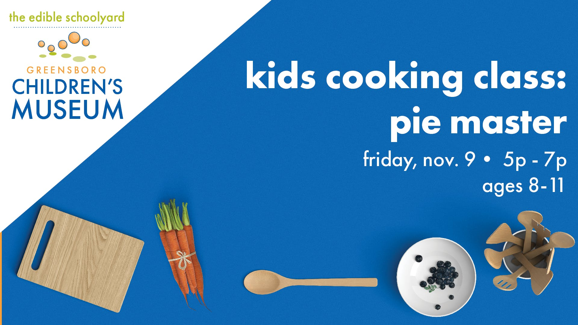 Kids Cooking Class: Pie Master (Ages 8-11)