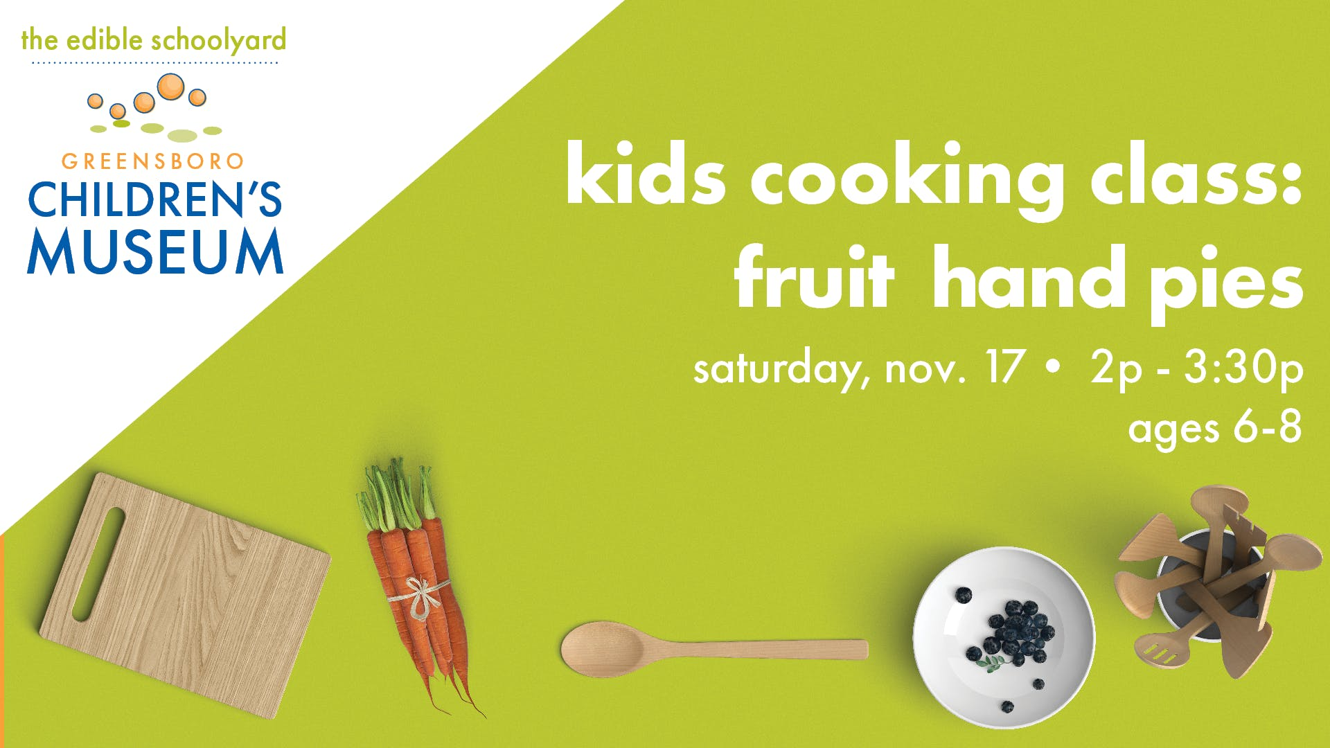 Kids Cooking Class: Fruit Hand Pies (Ages 6-8