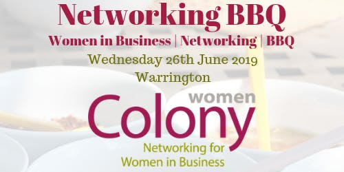 Colony Women in Business - Networking BBQ - 26 June 2019