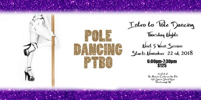 Thursday Night Intro to Pole Dancing