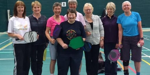 Dunfers learn and play pickleball September
