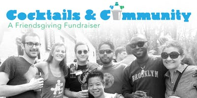 "Cocktails & Community - A ""Friendsgiving Fundraiser\"" for Community Bucket"