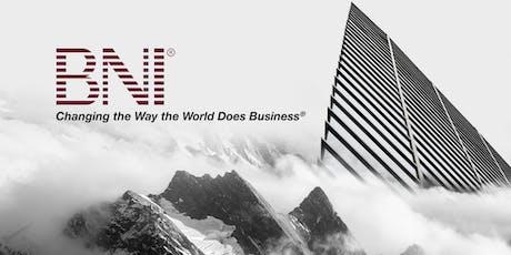 BNI EDGE (Business Networking International) Breakfast Meeting tickets