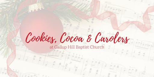 Cookies, Cocoa & Carolers