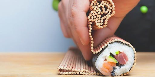 Roll like a pro! Hand-rolled sushi class with Chef Daniel