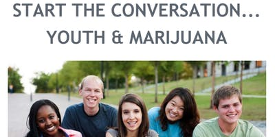 Free Community Training - Starting the Conversation: Youth and Marijuana