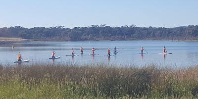 Coasting - Stand Up Paddleboarding at Crusoe Reservoir