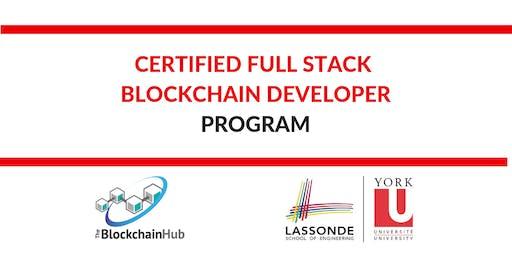 Certified Full Stack Blockchain Developer (CFBD) Program