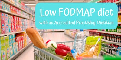 Low FODMAP diet with a Dietitian (Sat 1/12/18 at 11am)