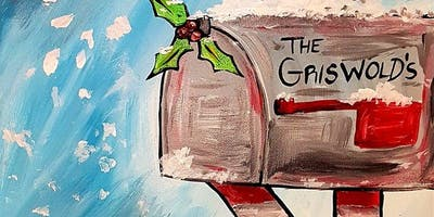 Paint Christmas Mail in Surrey at Edith & Arther!
