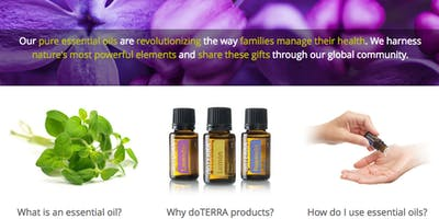 Introduction to Essential Oils 101 Class