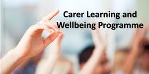 The Carer Learning and Wellbeing Programme - East...
