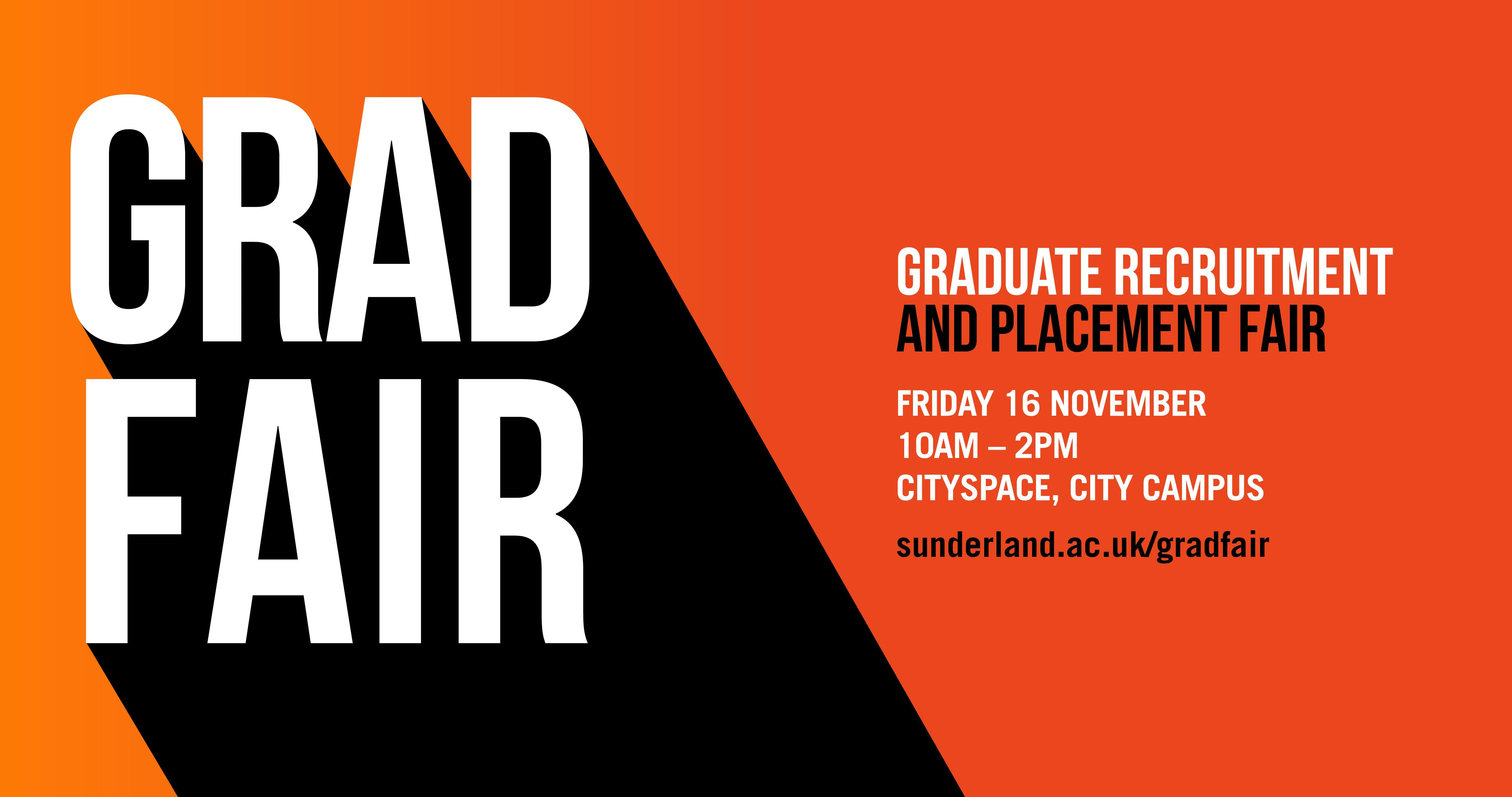 Graduate Recruitment and Placement Fair 2018