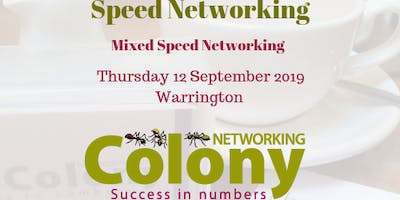 Colony Speed Networking - 12 Sept 2019