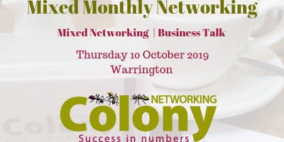 Colony Business Networking + Talk - 10 Oct 2019