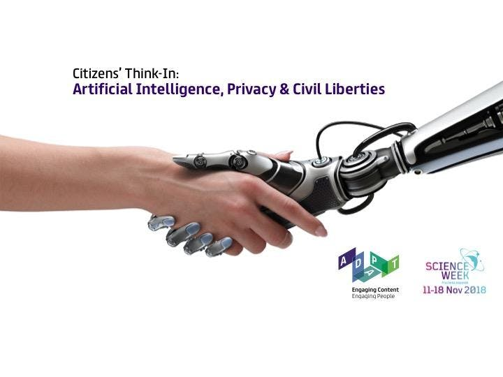 Citizens' Think-In: Artificial Intelligence, Privacy and Civil Liberties