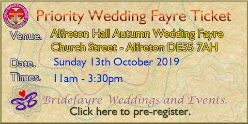 Alfreton Hall Autumn Wedding Fayre