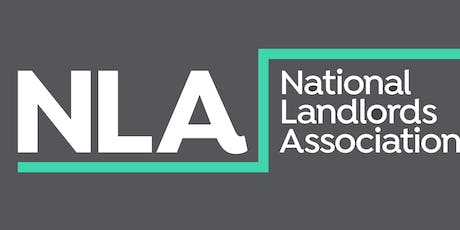 NLA Cheshire Landlords meeting tickets