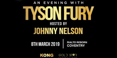 An Evening with Tyson Fury - Coventry