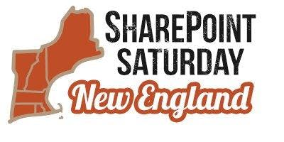 SharePoint Saturday New England 2019