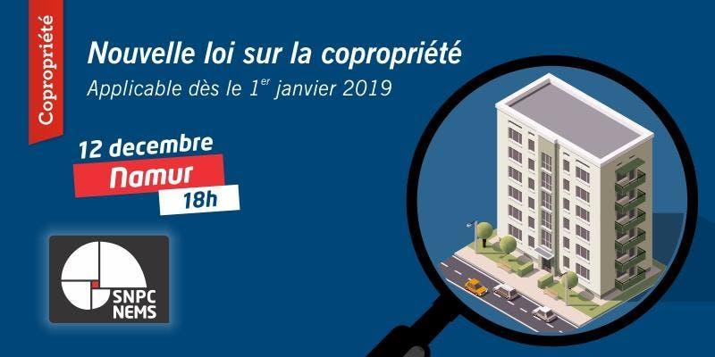 La nouvelle loi sur la copropriété - Namur
