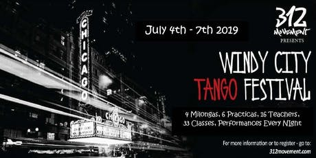 WINDY CITY TANGO FESTIVAL - 2019 tickets