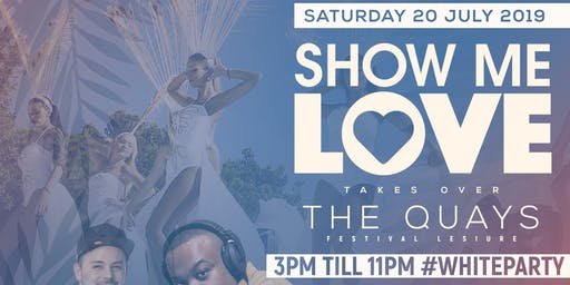 20th JULY '19 WHITE PARTY!! @ The Quays Festival Leisure Park