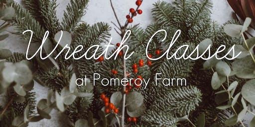 Wreath Class at Pomeroy Farm