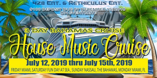 House Music Cruise  NON REFUNDABLE DEPOSIT PAGE.