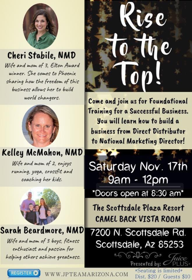 Super Saturday Distributor Training - RISE TO THE TOP!